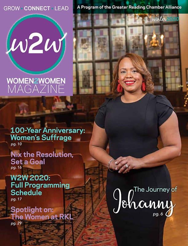 Women2Women Magazine - Grow • Connect • Lead - Winter 2020