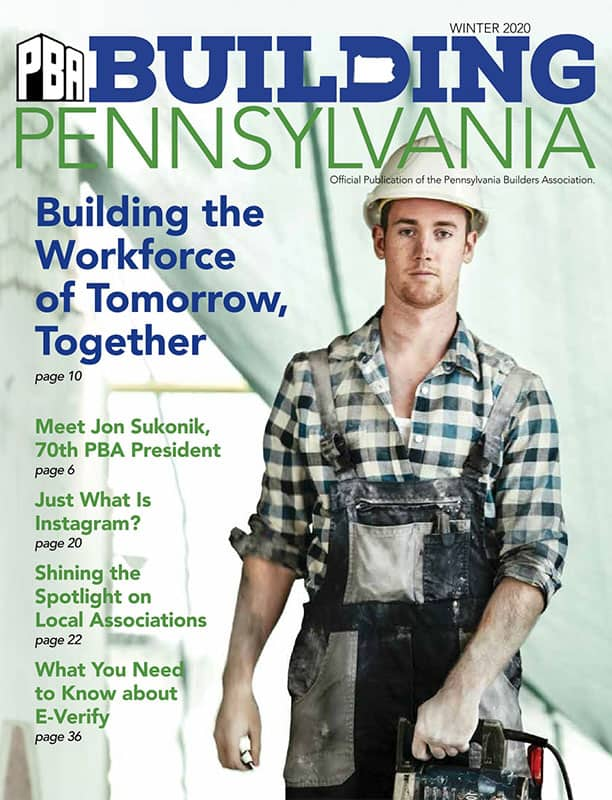 Building Pennsylvania - Winter 2020
