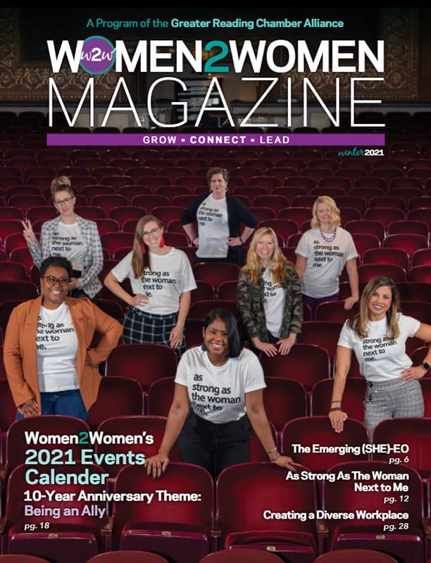 Women2Women Magazine - Grow • Connect • Lead - Winter 2021