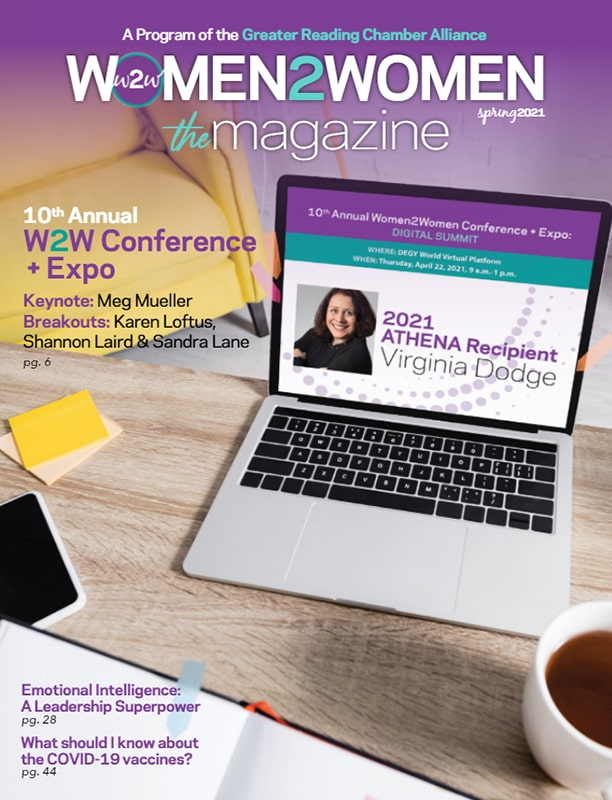 Women2Women Magazine - Grow • Connect • Lead - Spring 2021