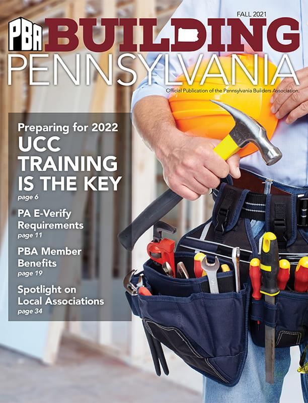 PBA Building Pennsylvania - Fall 2021